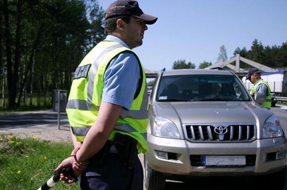 За нарушение ПДД оштрафован обычной полицией, а не дорожной
