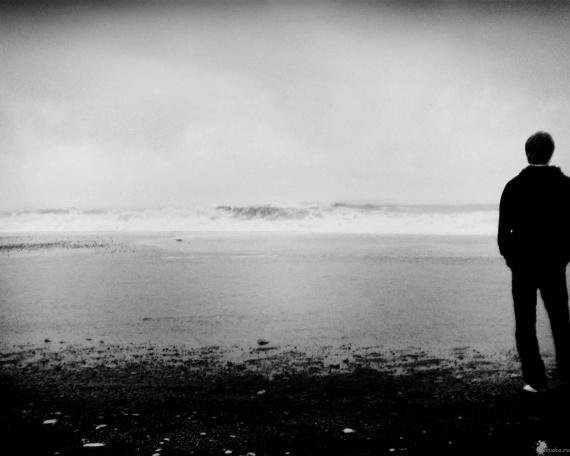 ава одиночество: